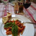 House specialty - Eggplant Rigatoni