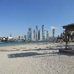 View of beach, marina and 101
