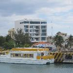 Hotel from ferry