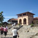 La Loma de la Cruz Restaurant at the top of the Hill of the Cross