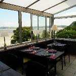 La salle a manger avec vue sur mer