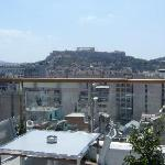 view at the acropolis