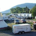 RV Park With Tipi