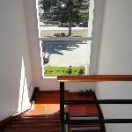 Las escaleras con vista