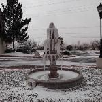 Frozen Fountain at the Holiday Inn Sunland, El Paso, Texas
