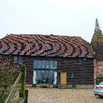 Exterior of Cloth Hall Oast b&b