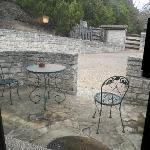 Attwater's private patio