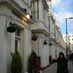 facciata hotel