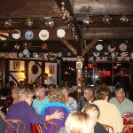 A busy evening at the Horse and Jockey