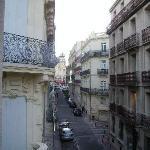 Vue de l'Hotel vers la Place de la Comédie