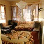 Corner double room