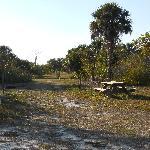 Tent camper area