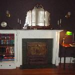 Old time fireplace