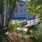 Le coin piscine de l'Hötel