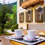 Genießen Sie Augenblicke der Ruhe auf unserer Terrasse