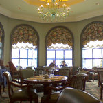 One of several seating areas at the Grand America brunch