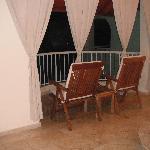 balcony honeymoon suite