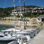 Boats at Nonsuch Bay Resort