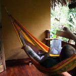 Ahh the hammock!