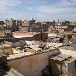 vue sur le toits de la Medina