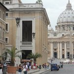 Palazzo Cardinal Cesi and St.Peter's Basilica
