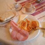 la mia colazione ....