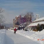 Sentier glacé