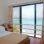 Covecastles Beach House Bedroom View