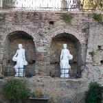 Jardim do Hotel - Estatuária