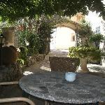 terraza exterior Turixant