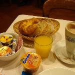 breakfast at hotel St. Gervais