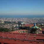 Veduta dal monte Tibidabo