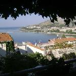 Omis, Terrace view