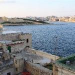 Typical scenery around Valletta