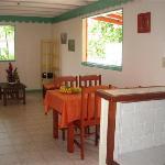 Cuisine et séjour gîte Alpinia
