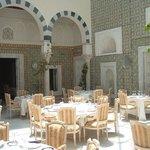 Dar El Kheirat restaurant in the heart of the old medina in Tunis