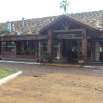 10.-Pto.Iguazú-Complejo Americano: interior del restaurante-desayunador
