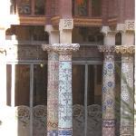 View from Room 5 - Palau de La Musica Catalaña