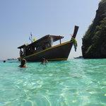 notre beau bateau à koh haa