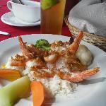 The Garlic Shrimp -- YUMMY!!