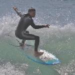 Vid Faros blir vågorna branta. Idealiskt för surfsugna.