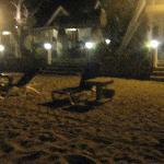 @ night. Villas infront the beach.