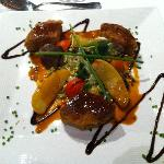 Un exemple de plat servi à l'hotel
