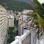 Ausblick vom Hotelpool Atlantico Copacabana Rio de Janeiro