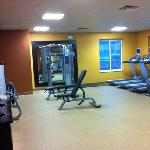 fitness center only cable free weights and cardio