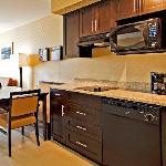 Kitchen one bedroom suite