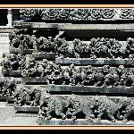 Belur - Carved star shaped outer walls