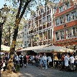 Pittoresque Oldtown in Dusseldorf - Breidenbacher Hof, Dusseldorf, Germany