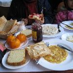 breakfast was good!