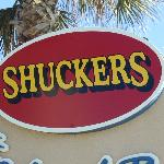 Look for this sign when arriving at your Beach Side  Restaurant and Tiki Bar.   .